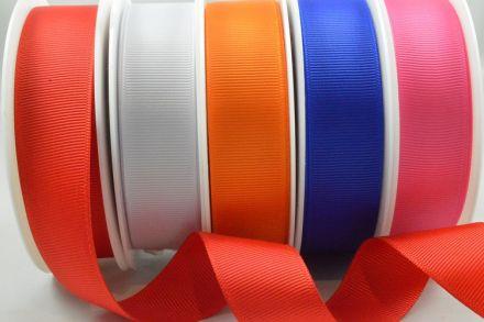 Oyster Satin Ribbon Roll 38mm 25mm 15mm 10mm  6mm 3mm Width Various Length Meter