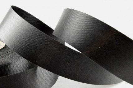 11mm, 19mm, 32mm, 50mm Black Acetate Satin Ribbon x 50 Metre Rolls!!