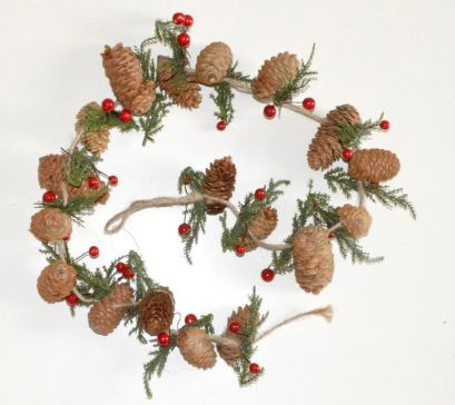 Traditional Christmas Pine Trees Garlands