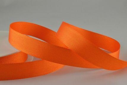 10mm, 16mm & 22mm Orange Grosgrain Ribbon x 20 Metre Rolls!