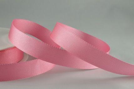 6mm, 10mm, 16mm, 22mm & 38mm Baby Pink Grosgrain Ribbon x 20 Metre Rolls!