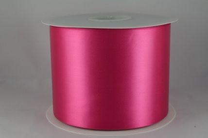 100mm Fuschia Single Sided Satin Sash ribbon x 50 metre rolls!!
