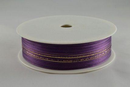 25mm Purple Fasbo Pull Bow Sheer Ribbon x 25 metres!!
