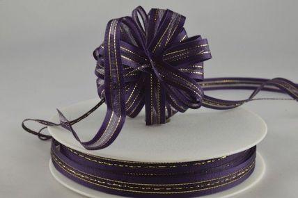 34007 - 10mm Purple Fasbo Sheer Pull Bow Ribbon x 25 Metre Rolls!