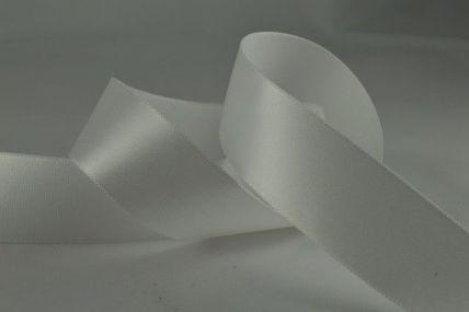 15mm, 25mm & 38mm Eggshell Single Faced Satin Ribbon x 100 Metre Rolls!