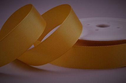 22mm Gold Grosgrain Ribbon x 20 Metre Rolls!