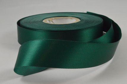24mm Dark Green Acetate Satin Ribbon x 50 Metre Rolls!
