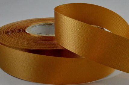 24mm Gold Acetate Satin Ribbon x 50 Metre Rolls!