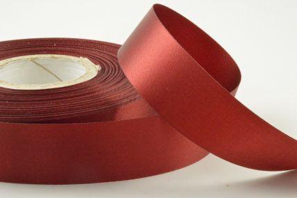 24mm Burning Red Acetate Ribbon x 50 Metre Rolls!!