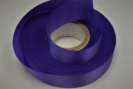 24mm Purple Acetate Satin Ribbon x 50 Metre Rolls!