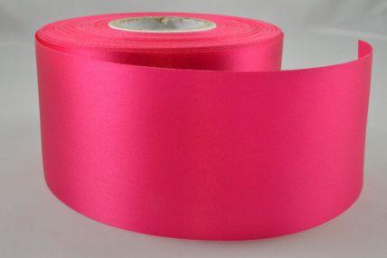 63mm Pink Acetate Satin Ribbon x 50 Metre Rolls!