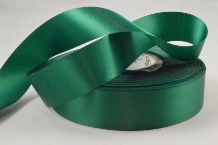 24mm Green Acetate Satin Ribbon x 50 Metre Rolls!