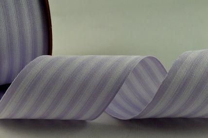 39mm Lilac Striped Ribbon x 10 Metre Rolls!!