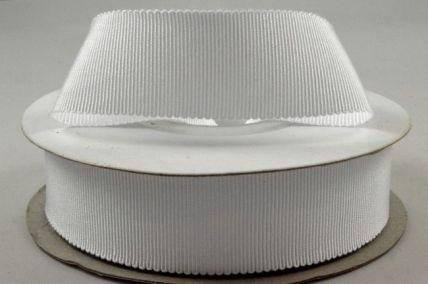 25mm White Petersham Ribbon x 20 Metre Rolls!