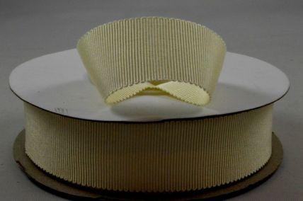 25mm Cream Petersham Ribbon x 20 Metre Rolls!