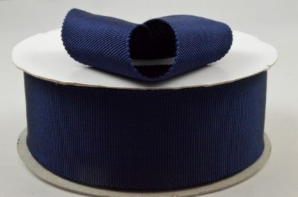 38mm Navy Blue Petersham Ribbon x 20 Metre Rolls!