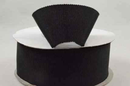 16mm Black Petersham Ribbon x 20 Metre Rolls!