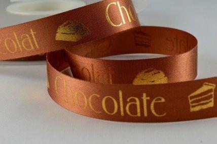 24mm Brown Chocolate Ribbon x 50 metre rolls!!