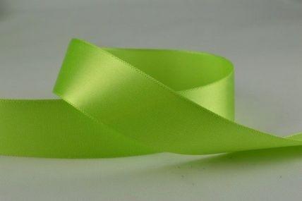 15mm, 25mm & 38mm Green Single Faced Satin Ribbon x 100 Metre Rolls!