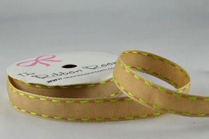 16mm Green Side Stitch Ribbon x 4 Metre Rolls!