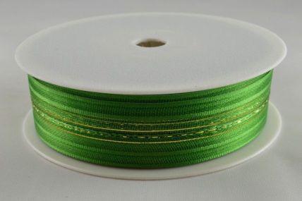 25mm Emerald Green Fasbo Pull Bow Sheer Ribbon x 25 metres!!
