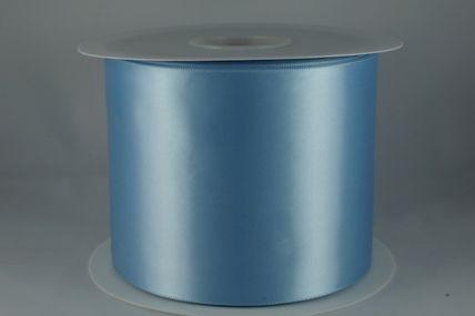 100mm Baby Blue Single Sided Sash ribbon x 50 Metres!