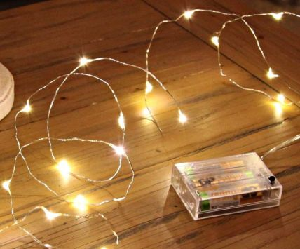 10 LED Battery Power Operated Fairy Light String