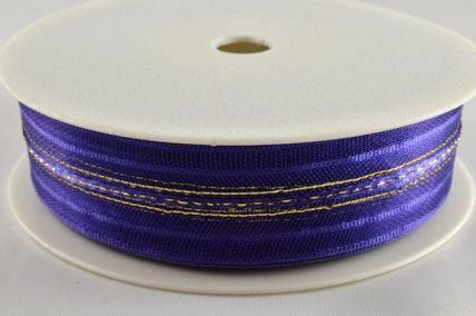 25mm Royal Blue Fasbo Pull Bow Sheer Ribbon x 25 metres!!