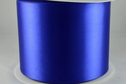 100mm Royal Blue Single Sided Sash ribbon x 50 Metres!