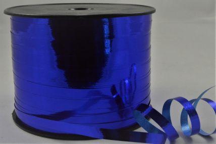 5mm Royal Blue Metallic Polypropylene Curling Ribbon x 250 Metre Rolls!