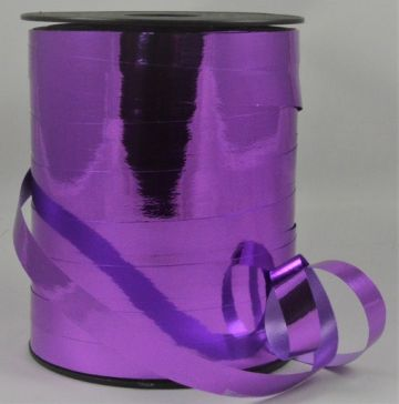 10mm Purple Metallic Polypropylene Curling Ribbon x 250 Metre Rolls!!