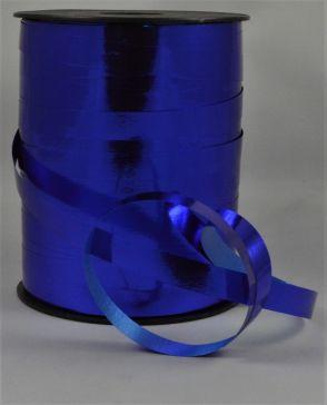 10mm Royal Blue Metallic Polypropylene Curling Ribbon x 250 Metre Rolls!!