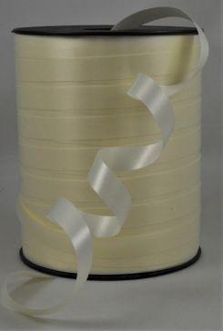 10mm Cream Polypropylene Curling Ribbon x 250 Metre Rolls!!