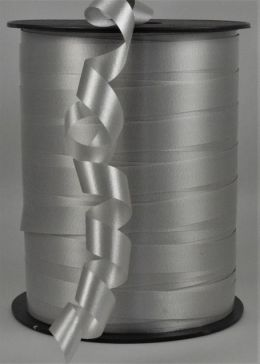 10mm Silver Polypropylene Curling Ribbon x 250 Metre Rolls!!