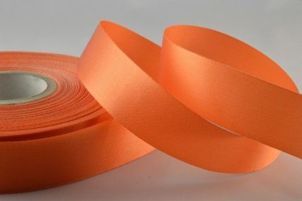 15mm & 24mm Apricot Acetate Ribbon x 50 Metre Rolls!!