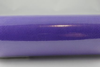150mm Purple Nylon Tulle Fabric x 10 Metre Rolls!!