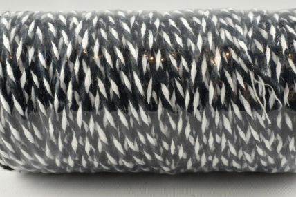 1mm Black Bakers Twine x 100 Metre Rolls!!