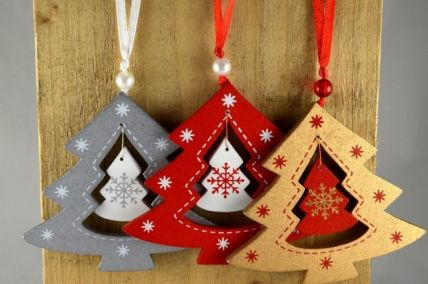 Christmas Tree Decoration with Attached Loop!