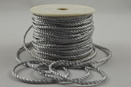 2mm Silver Wrapping Craft Cord x 20 Metre Rolls!!