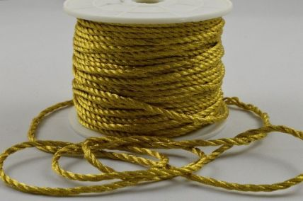 2mm Gold Wrapping Craft Cord x 20 Metre Rolls!!