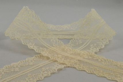 38mm Cream Lace Design x 10 Metre Rolls!!