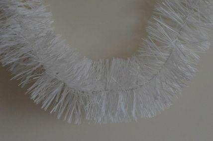 88135 - Plain White Tinsel x 2 Metre Lengths!