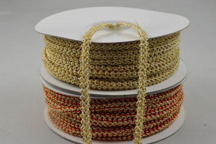 5mm Colour Woven Decorative Band x 25 Metre Rolls!