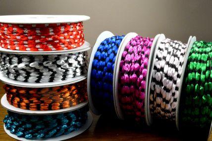 3mm Woven Braided Thread x 25 Metre Rolls!