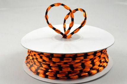 3mm Orange Woven Braided Thread x 25 Metre Rolls!