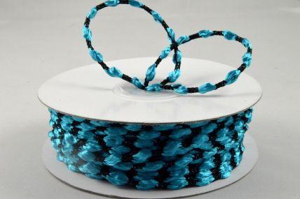 3mm Aqua Woven Braided Thread x 25 Metre Rolls!