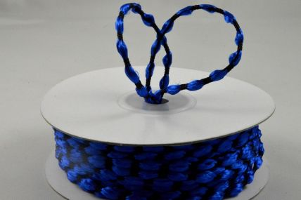 3mm Royal Blue Woven Braided Thread x 25 Metre Rolls!