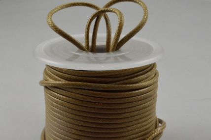 2mm Green Coloured Rope Waxed Cord x 25 Metre Rolls!