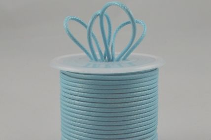 2mm Blue Coloured Rope Waxed Cord x 25 Metre Rolls!