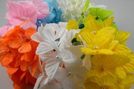 30mm Coloured Decorative Cord Butterflies!